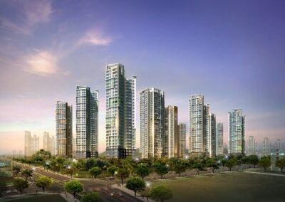 Yeongjong Sky City Hill State New Construction